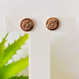 Flower Earrings by Nomination